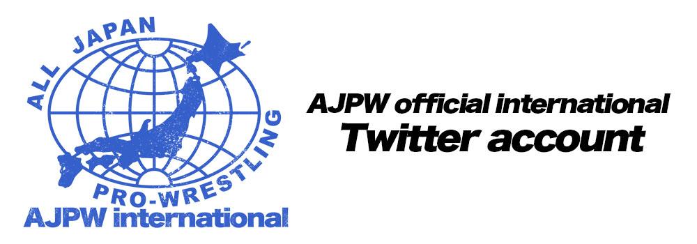 AJPW international twitter